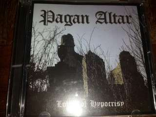 Music CD (Metal): Pagan Altar ‎– Lords Of Hypocrisy - Doom Metal, Heavy Metal