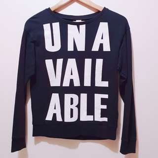 H&M Unavailable Sweater