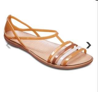 Authentic CROCS isabella sandals