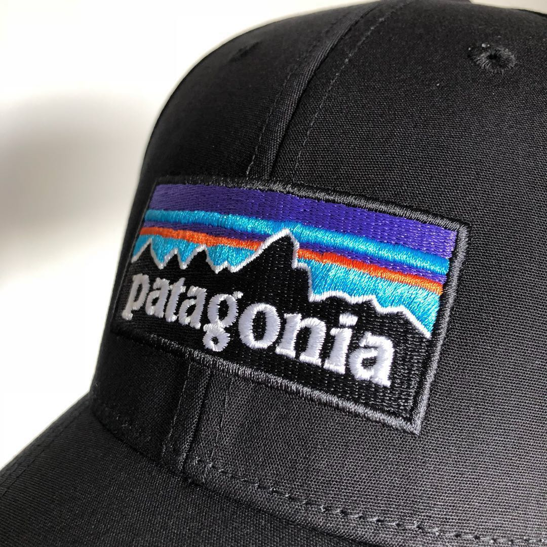 fb79a27083078 全新未剪牌2018款Patagonia P-6 Logo Stretch Fit Hat Cap (S M) 男女 ...
