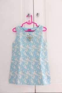 Dress Gingersnap Biru Muda