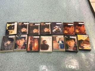 劉德華 珍藏 錄音帶 多盒