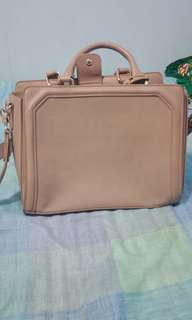 Zalora leather bag