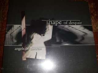 Music CD (Sealed): Shape Of Despair ‎– Angels Of Distress - Doom Metal