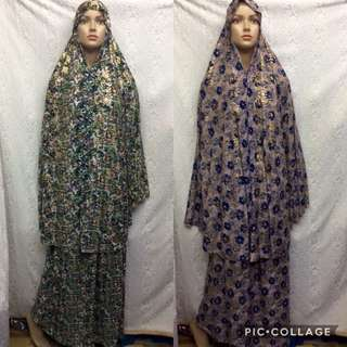 Islamic prayer dress