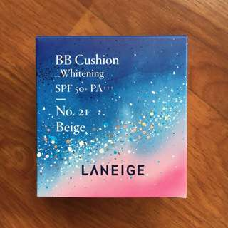 BNIB Laneige BB Cushion Whitening - No. 21 Biege - Milky Way Fantasy Holiday Edition