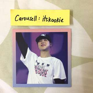 [WTS] BTS JIMIN EPILOGUE ON STAGE DVD PHOTOCARD