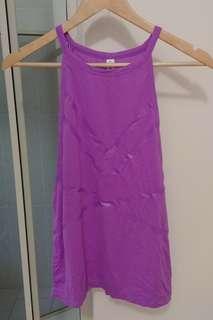 Lorna Jane purple tank top