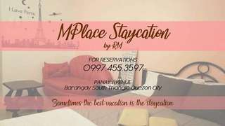 MPlace Staycation by RM