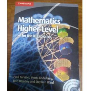 Mathematics Higher Level (HL) for the IB Diploma