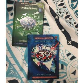 39 Clues Book 2 and Book 4