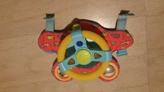 Taf toys steering wheel
