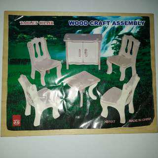 Wood Craft Assembly • Tablet Chair