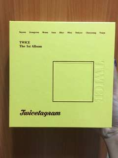 🚚 Twice twicetagram the 1st album
