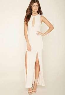 Forever 21 summer long slit dress