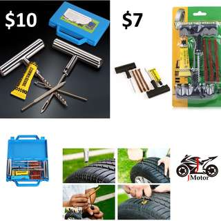 Tyre Repair Kit with Box Tyre Repair Kit / Tyre Worm Kit / Touring Kit