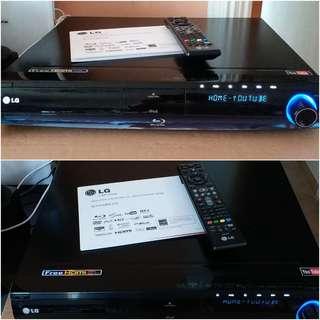 LG Blue Ray HB954TBW 家庭劇院系統 - 主機