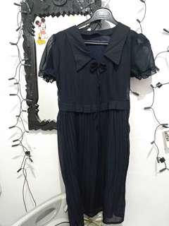 Dress wanita black
