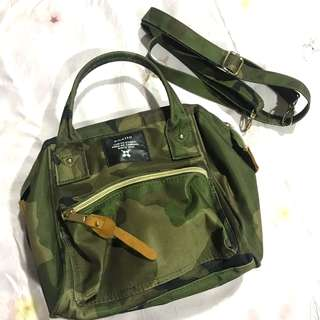 Anello Camouflage Sling Bag