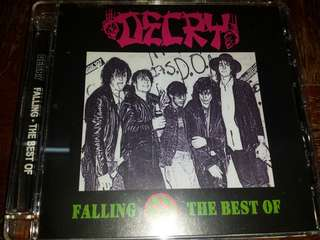 Music CD: Decry ‎– Falling - The Best Of - U.S. Hardcore Punk Band