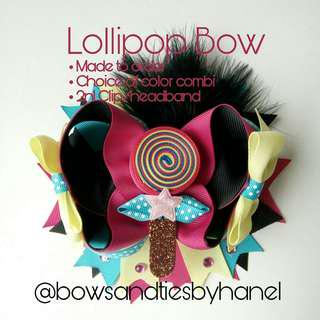 Lollipop Bow