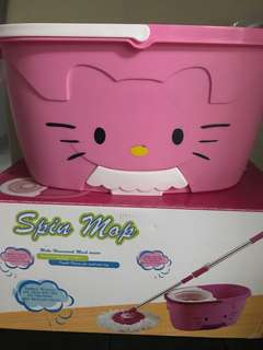 Hello kitty Spin Mop