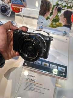 Sony A5000L Kit 16-50mm Kredit Mudah