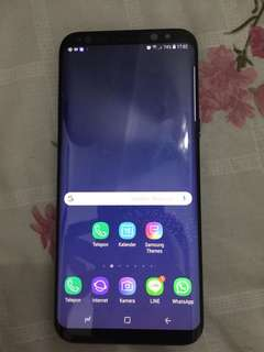 Samsung s8 + plus black