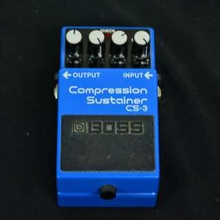BOSS CS-3 藍色 壓縮效果器