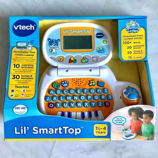 (In-Stock) VTech Lil' SmartTop, White (Brand New)