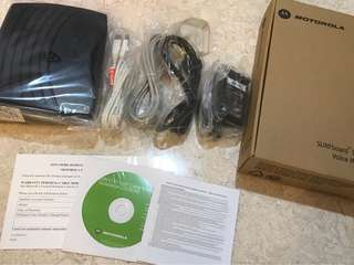 Motorola Surfboard Digital Voice Modem