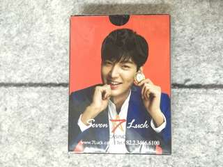 李敏鎬 啤牌 撲克牌 Lee Min-ho Poker Cards