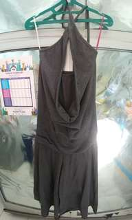 Jumpsuit stretch sexy back