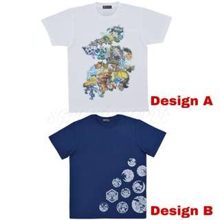 [PO] T-SHIRT [NIGHT PARADE] - POKEMON CENTER EXCLUSIVE