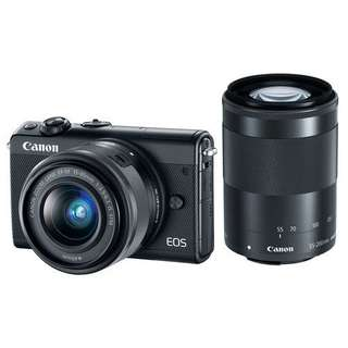 Canon EOS M100 Mirrorless Digital Kit 15-45mm Kredit Cepat
