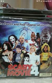 Vcd Vcd sale Buy 2 get 1 free!   English   Scary movie 4  Dim-witted Cindy Campbell (Anna Faris) and her sex-crazed friend, Brenda (Regina Hall), team up with cute-but-clueless Tom Ryan (Craig Bierko) to save the world from