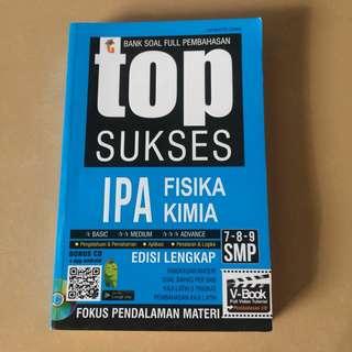 Pocket book TOP SUKSES FISIKA KIMIA SMP