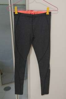 Lorna jane grey charcoal tights XS