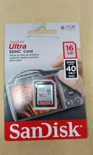 🚚 天生拍賣_SanDisk 16GB 記憶卡