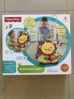 Fisher Price Musical Lion Walker (6-36 mths)