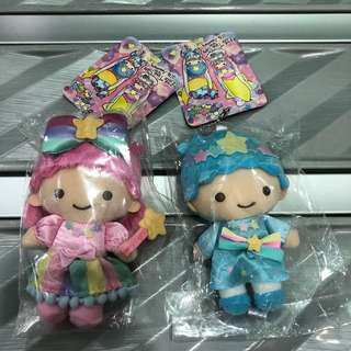 Little twin stars 40th Anniversary Keychain Plush