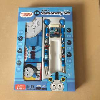 alat tulis STATIONARY SET 5 IN 1 anak-anak, thomas and friends
