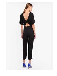 MISS SELFRIDGE Black Jumpsuit