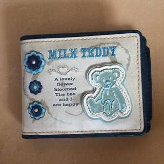 Dompet/wallet MILK TEDDY