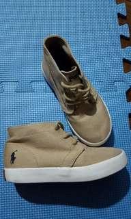 Auth Ralph Lauren Mid Cut Sneakers rl size 10