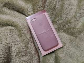 iPhone 5s Leather Case Beige