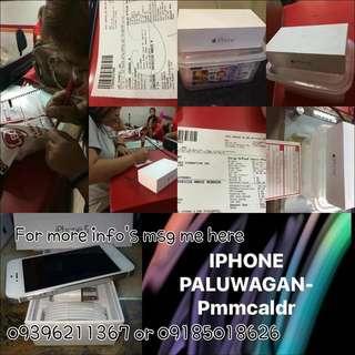 IPHONE PALUWAGAN (5s-6splus)