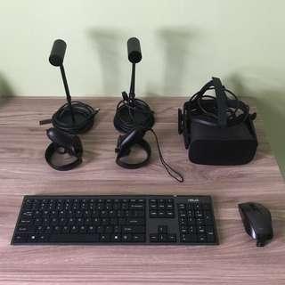Oculus set