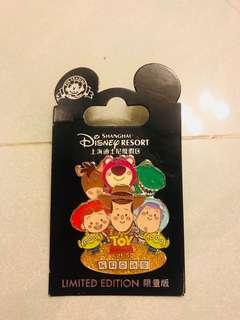 Disney Pin —Shanghai Le