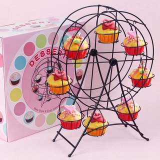 Dessert 8 pcs ferris wheel cupcake holder